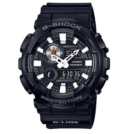 卡西欧 G-SHOCK 极限运动系列 防磁防震 男士手表 GAX-100B-1A
